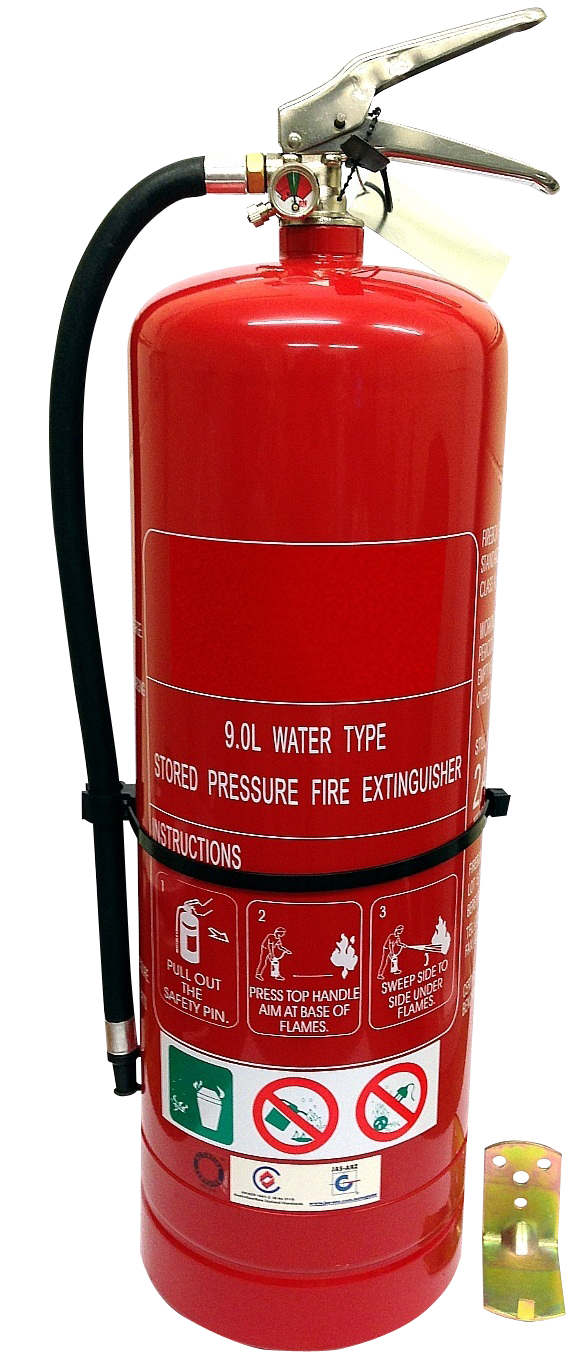 90 Litre Air Water H2o Portable Tagged Fire Extinguisher